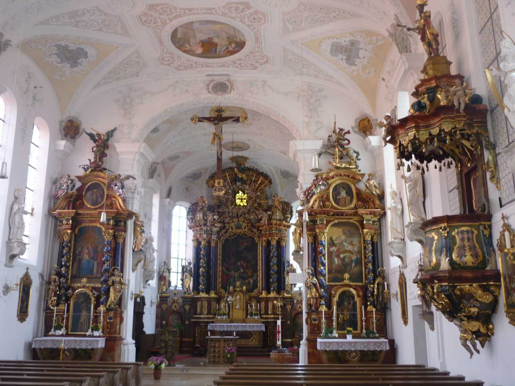 Kirchenraum St. Peter & Paul Inningen