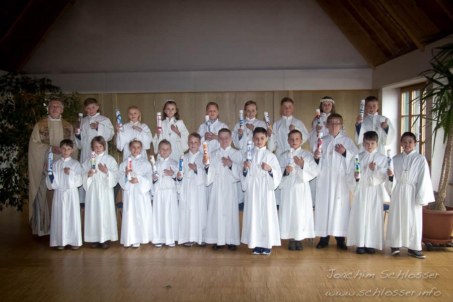 Erstkommunion St. Peter & Paul 2016. Foto © Joachim Schlosser