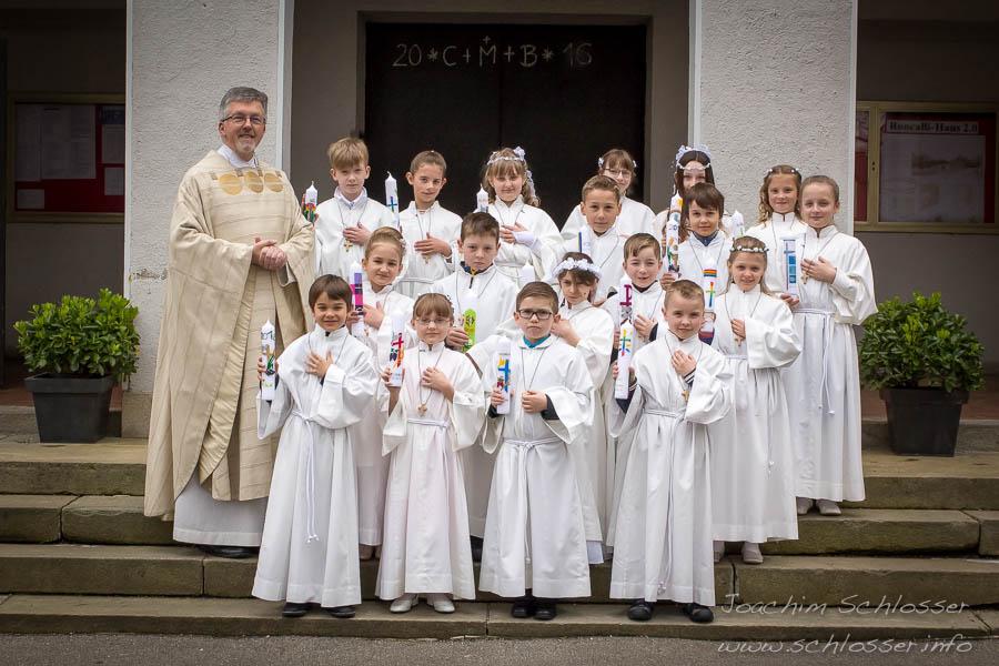 Erstkommunion St. Georg & Michael 2016