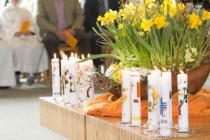 Erstkommunion Kuratie Kerzen