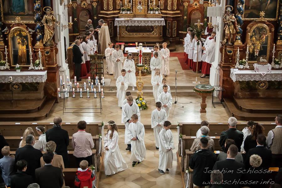 Altarraum Erstkommunion St. Peter & Paul