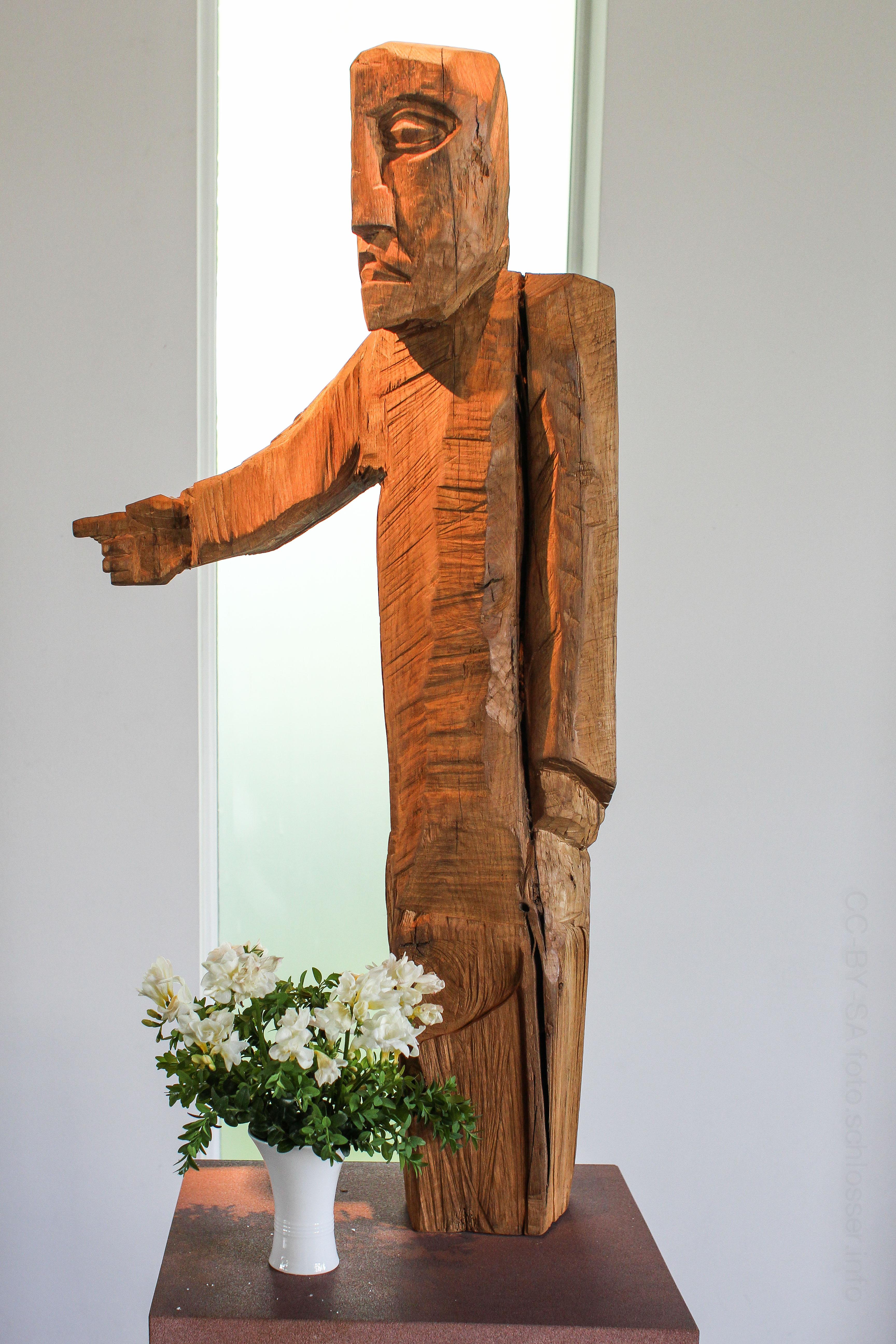 Kuratie: Johannes-Figur