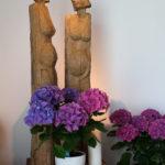 Kuratie: Figuren Maria und Elisabeth