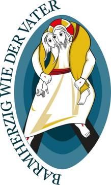 Jahr der Barmherzigkeit Offizielles Logo