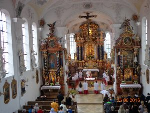 Pfarrfest Inningen 2016 – Festgottestdienst. Foto: Franziska Bauer