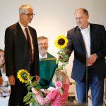 Pfarrgemeinderatsvorsitzender Thomas Appel begrüßt die neuen Pastoral- und Gemeindereferenten