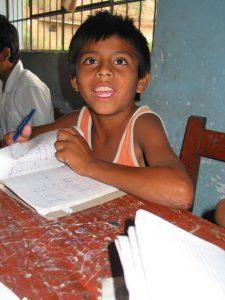 Kinderarbeiter in der Schule