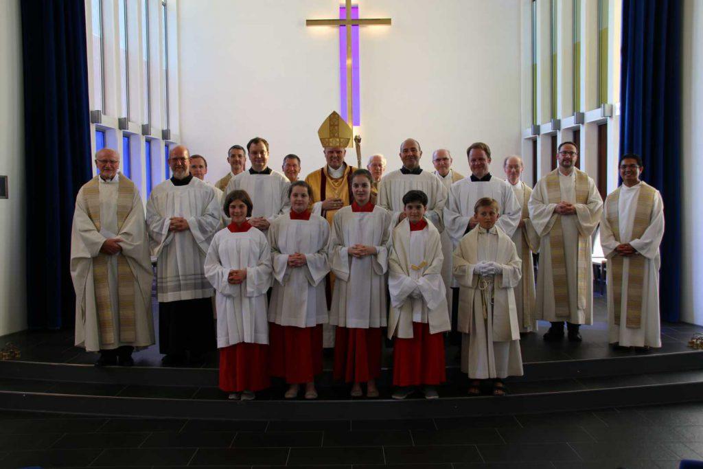 Übertragung der Diakon-Dienste an Martin Lehmann