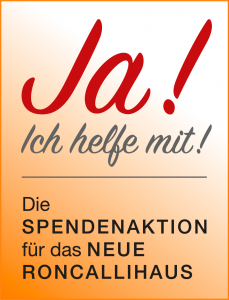 Spendenaktion Roncallihaus Label