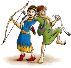 Jonatan und David