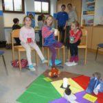Kinder im Stuhlkreis