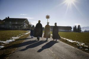 Die Sternsinger kommen in die Kuratiegemeinde