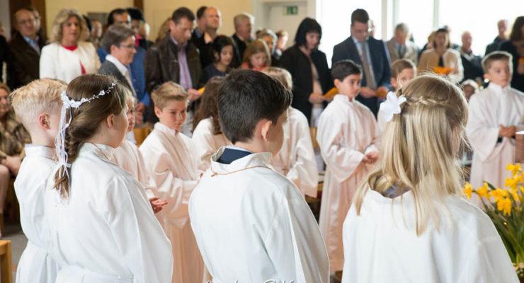 Erstkommunion Kuratie St. Johannes Baptist 2017