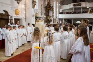 Erstkommunion 2017 St. Peter und Paul Altar