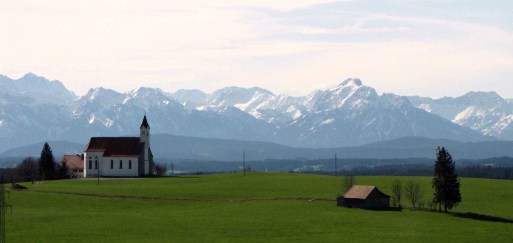 Wallfahrtskirche St. Alban, Görwangs, Aitrang