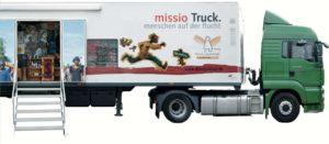 Advent: Zeit zum Ankommen – Flucht-Truck von MISSIO in der Kuratie 11.–15.12.