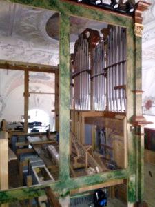 Orgelrenovierung Inningen – Prospekt