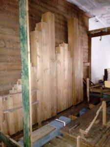 Orgelrenovierung Inningen – Holzpfeifen