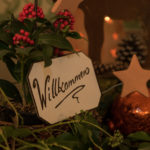 Beim Adventsbazar 2017 im Gartensaal der Hessingburg