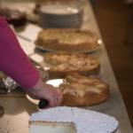 Kuchen beim Adventsbazar 2017 im Gartensaal der Hessingburg