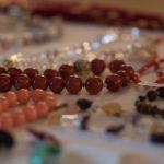 Schmuck beim Adventsbazar 2017 im Gartensaal der Hessingburg