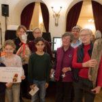 Gewinner beim Adventsbazar 2017 im Gartensaal der Hessingburg