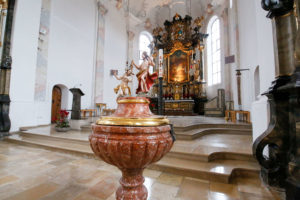 St. Georg und Michael Taufbecken