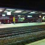 Bahnhof Güterzug