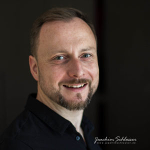 Selbstportrait Joachim schwarz farbe
