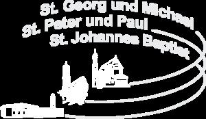 Pfarreiengemeinschaft Logo weiß