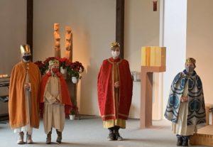 Sternsingeraussendung in St. Johannes Baptist 2021