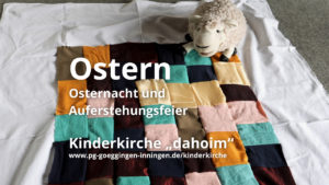 Kinderkirche Ostern 2021