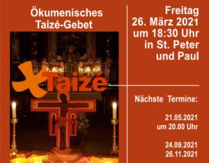 Taize Gebet Mai 2021